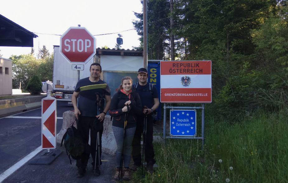 Slovenska evropska pešpot E6 od Prelaza Radelj do Strunjana