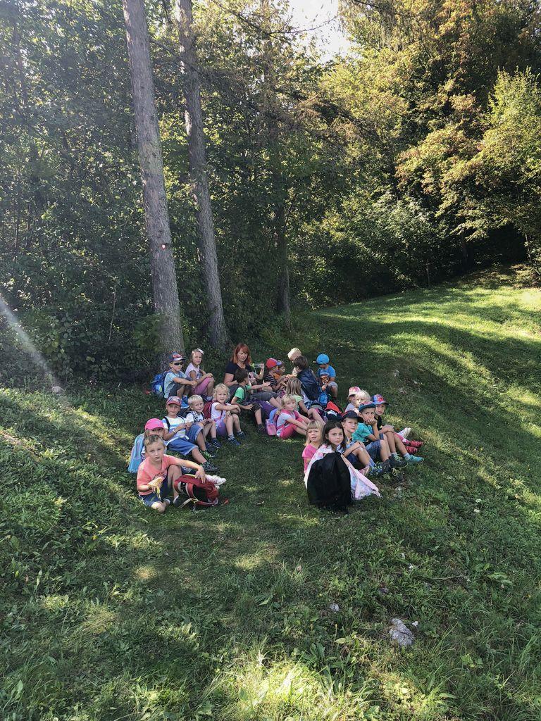 Sovica Oka popeljala planince Vrtca Vransko v Škadavnico