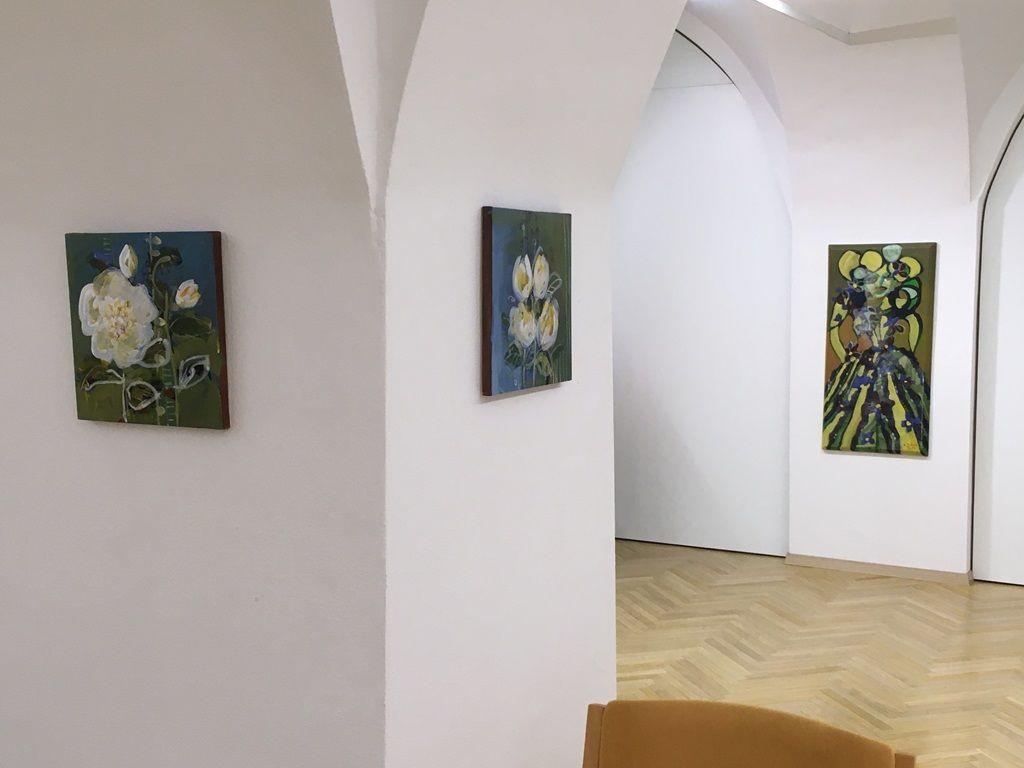 Likovna razstava Irene Tušek