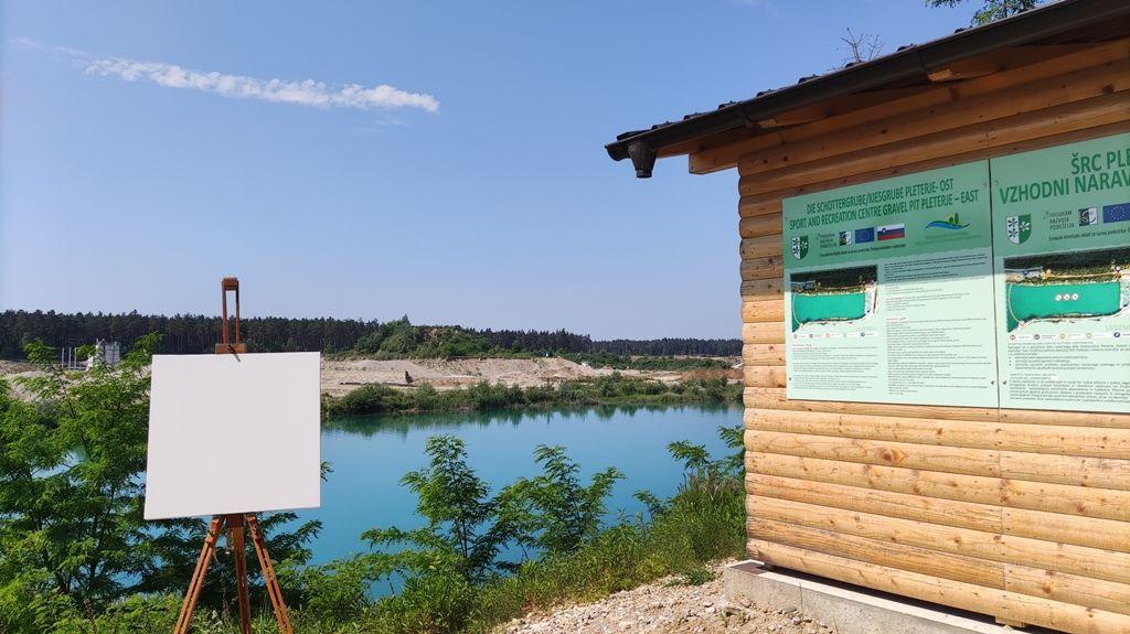 17. likovna kolonija DPD Svoboda Kidričevo in odprtje razstave »Zeleno«
