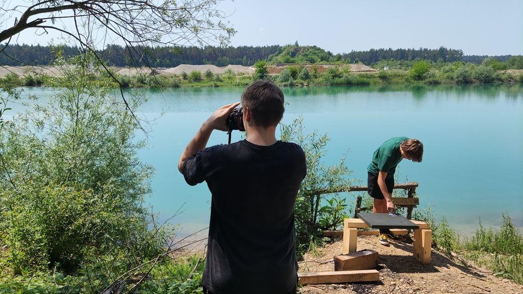 Ustvarjalci na koloniji na Green Lake-u