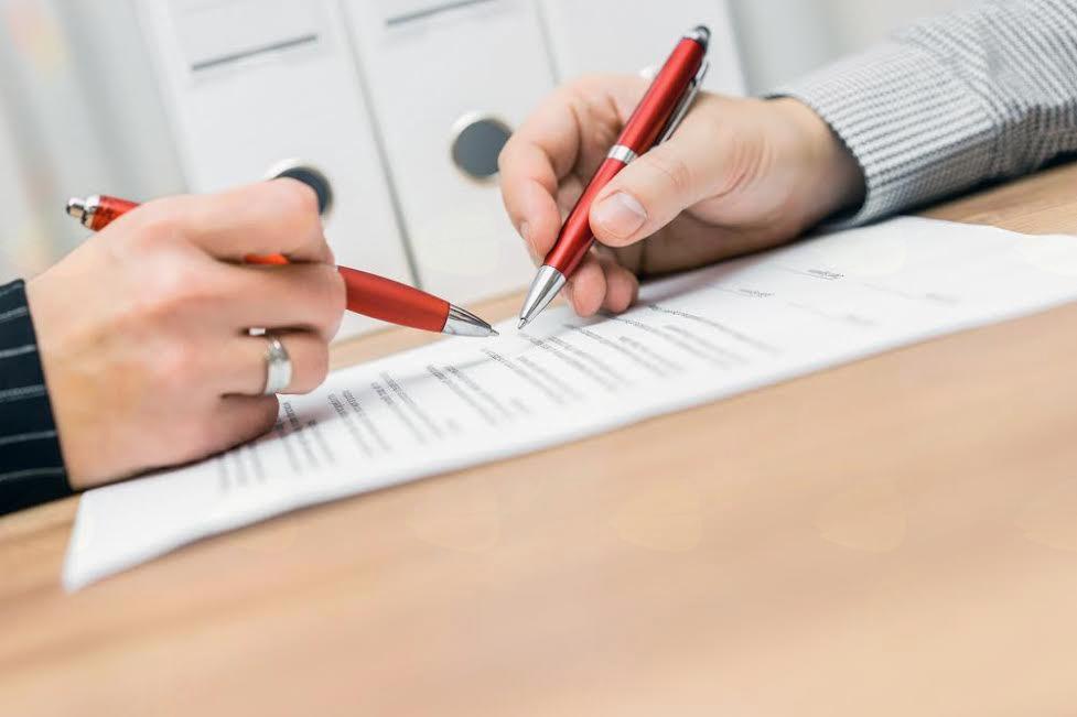 Osnovna navodila kako skleniti pogodbo