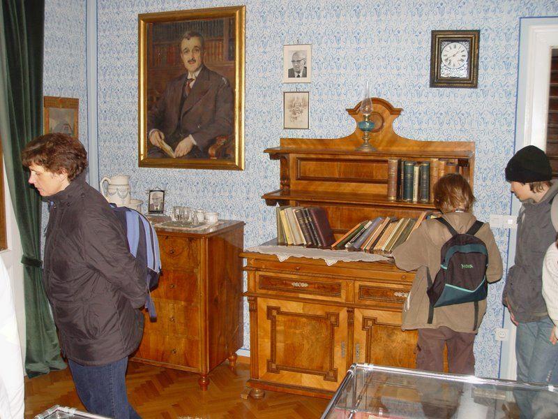 Ogled Plemljeve spominske sobe