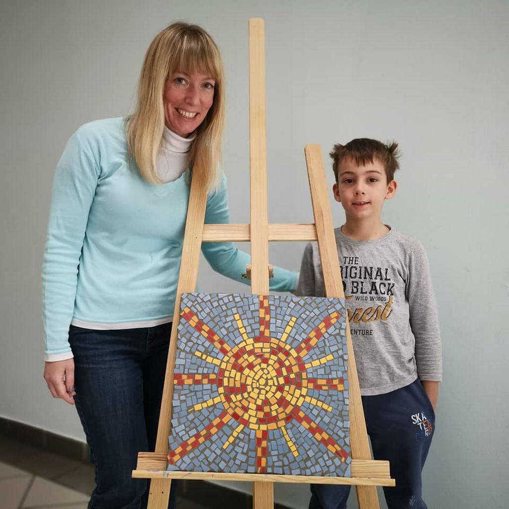 Družinski moderni mozaik