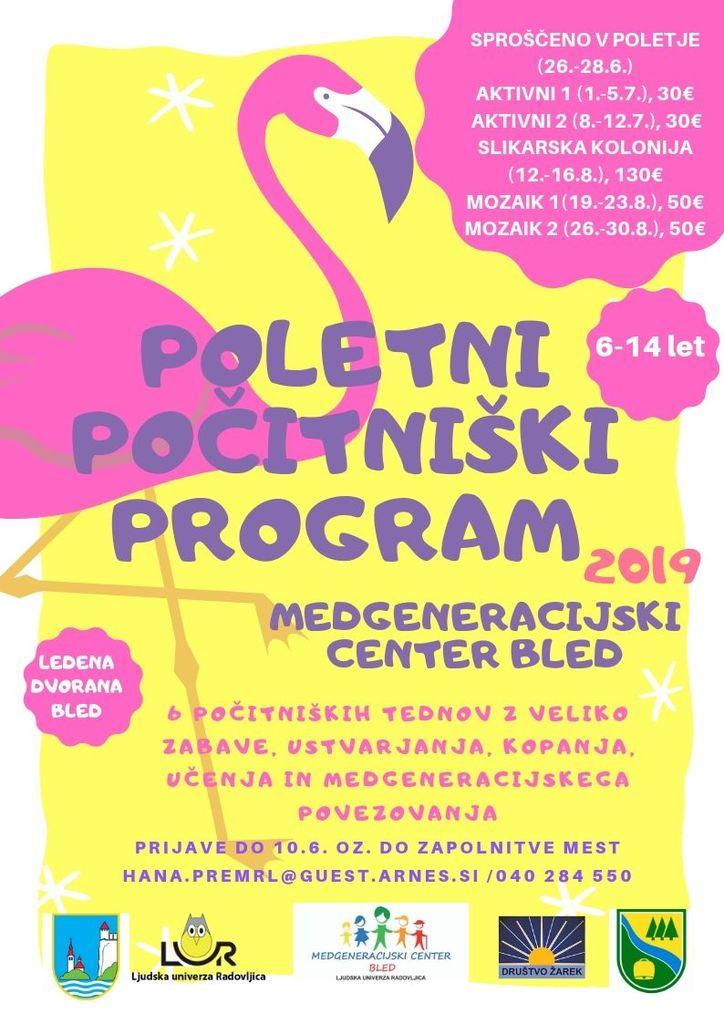Poetni počitniški program-Mozaik
