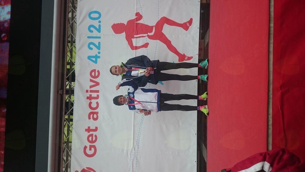 Tomi in Ajda uspešna na Get Active 2.0 teku v sklopu dunajskega maratona