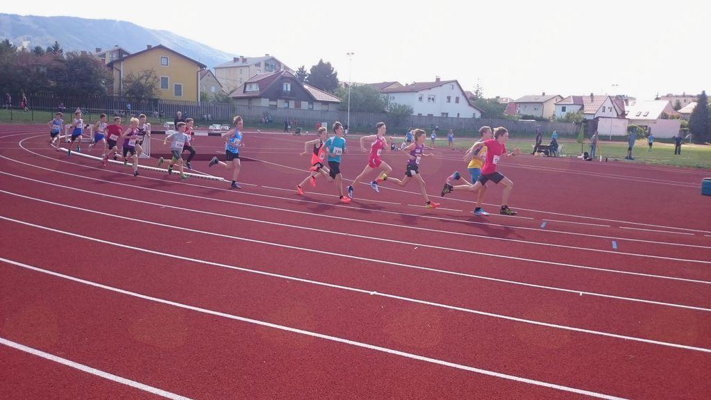 Tek na 1000 m v kategoriji U14