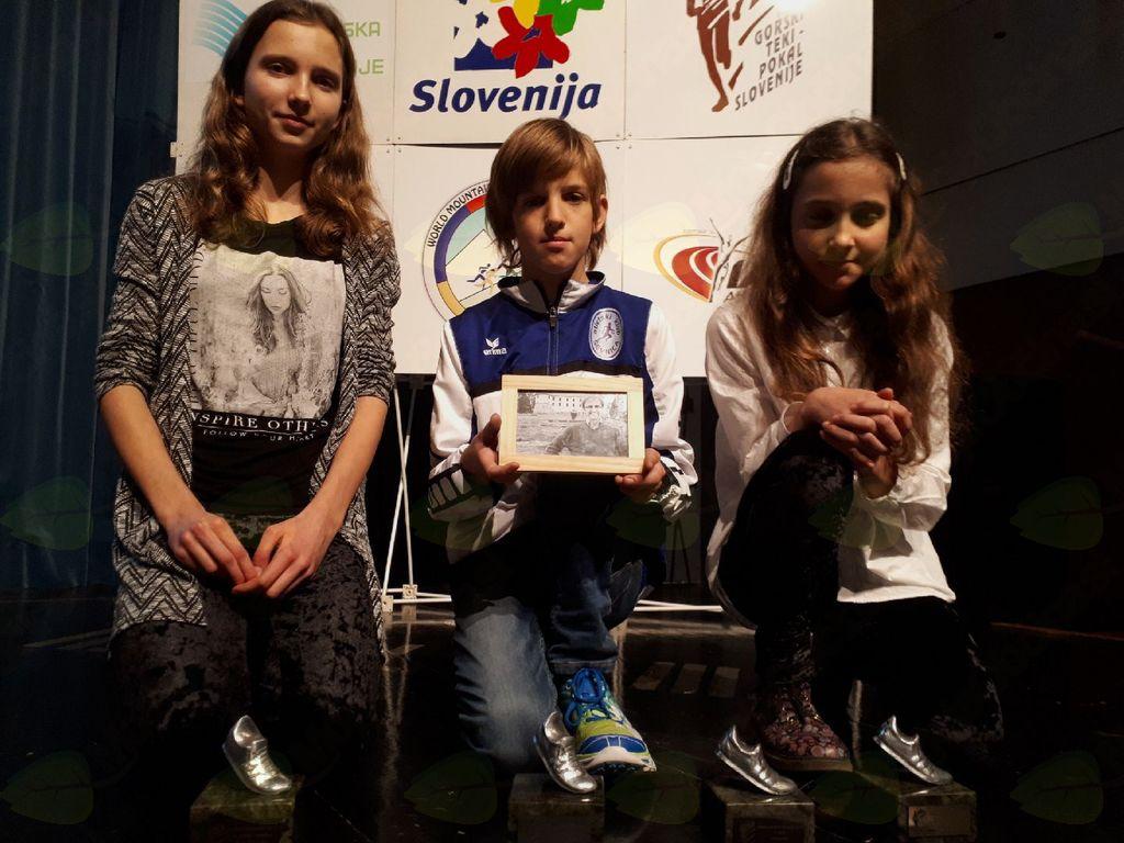 Skupno tretje mesto v gorskem pokalu posvečeno trenerju in vodji AK Sevnica, Rafku Povhetu