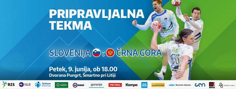 Mednarodna tekma med Slovenijo in Črno goro