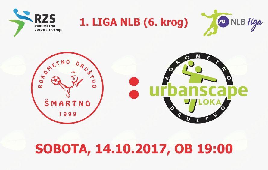 Rokometna tekma proti RD Urbanscape Loka (1. LIGA NLB - 6.krog)