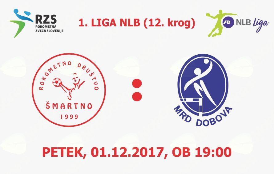 Rokometna tekma proti MRD Dobova (1. LIGA NLB - 12. krog)