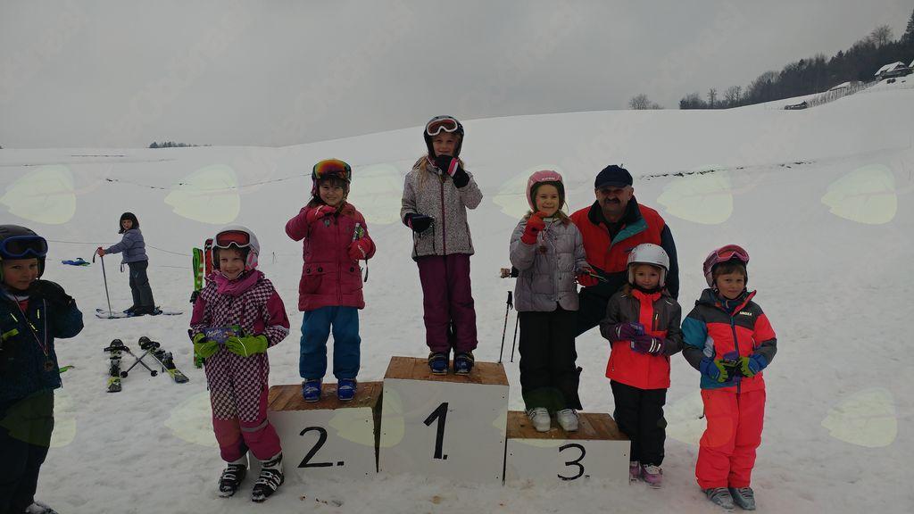Smučarska tekma 2018