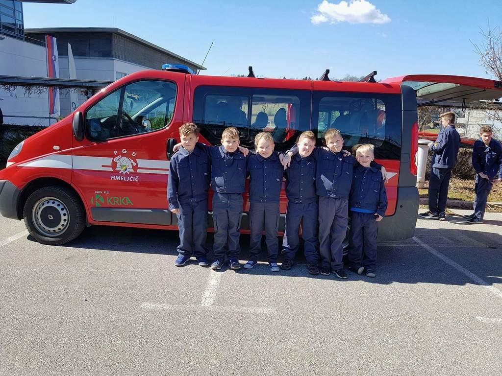 Mladi hmeljčiški gasilci odhajajo na regijsko tekmovanje