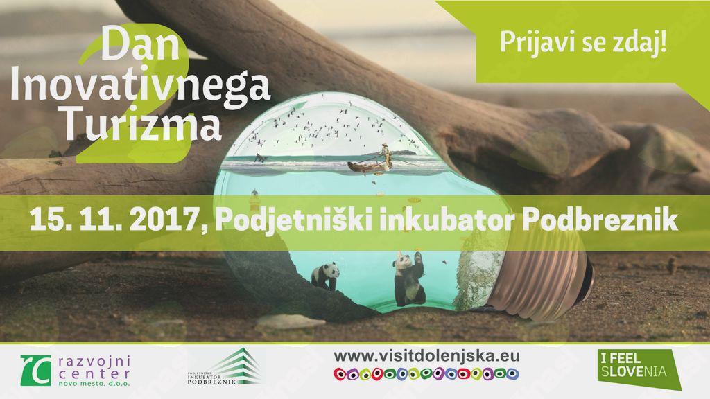 Dan inovativnega turizma 2 - brezplačno za ponudnike iz Dolenjskih Toplic
