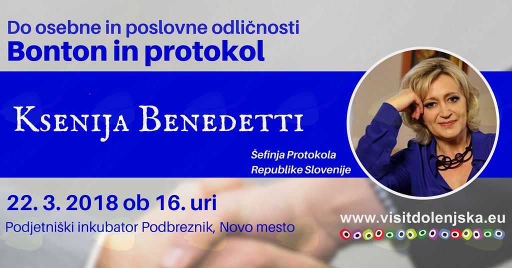 Do osebne in poslovne odličnosti s Ksenijo Benedetti
