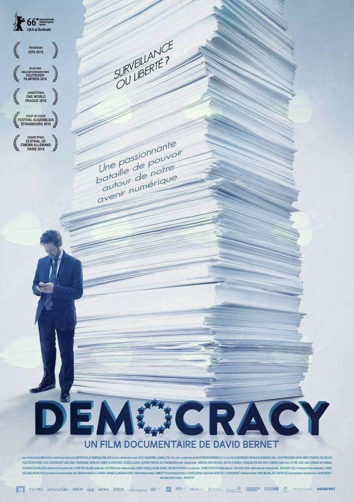 Predvajanje filma DEMOKRACIJA