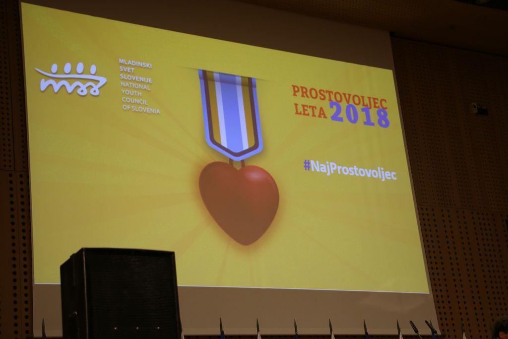 NAJ PROSTOVOLJEC 2018- Brdo pri Kranju