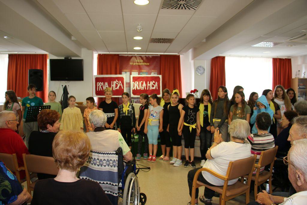 Zabavno dopoldne z učenci Druge OŠ Slovenj Gradec