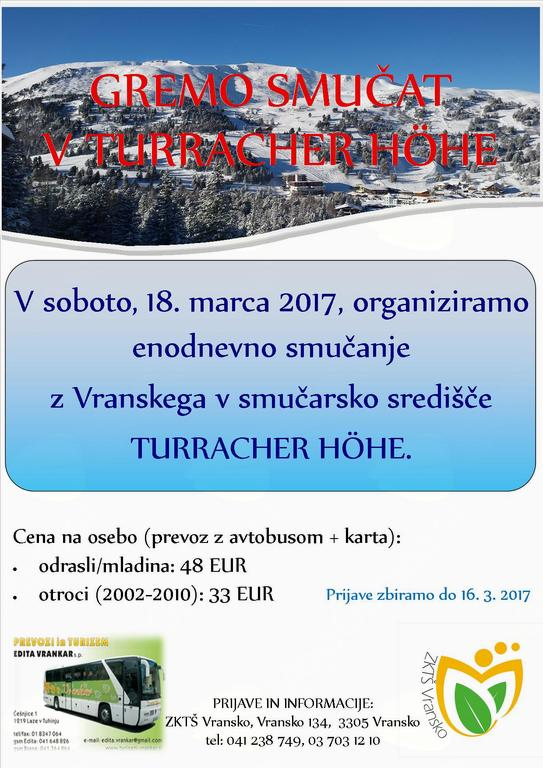 GREMO SMUČAT V TURRACHER HÖHE, 18. 3. 2017