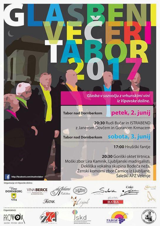 Koncert: Rudi Bučar & ISTRABEND, XIV. Glasbeni večeri Tabor