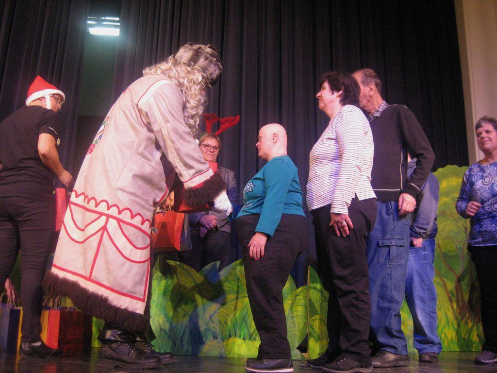 Dedek Mraz v Medobčinskem društvu Sožitje