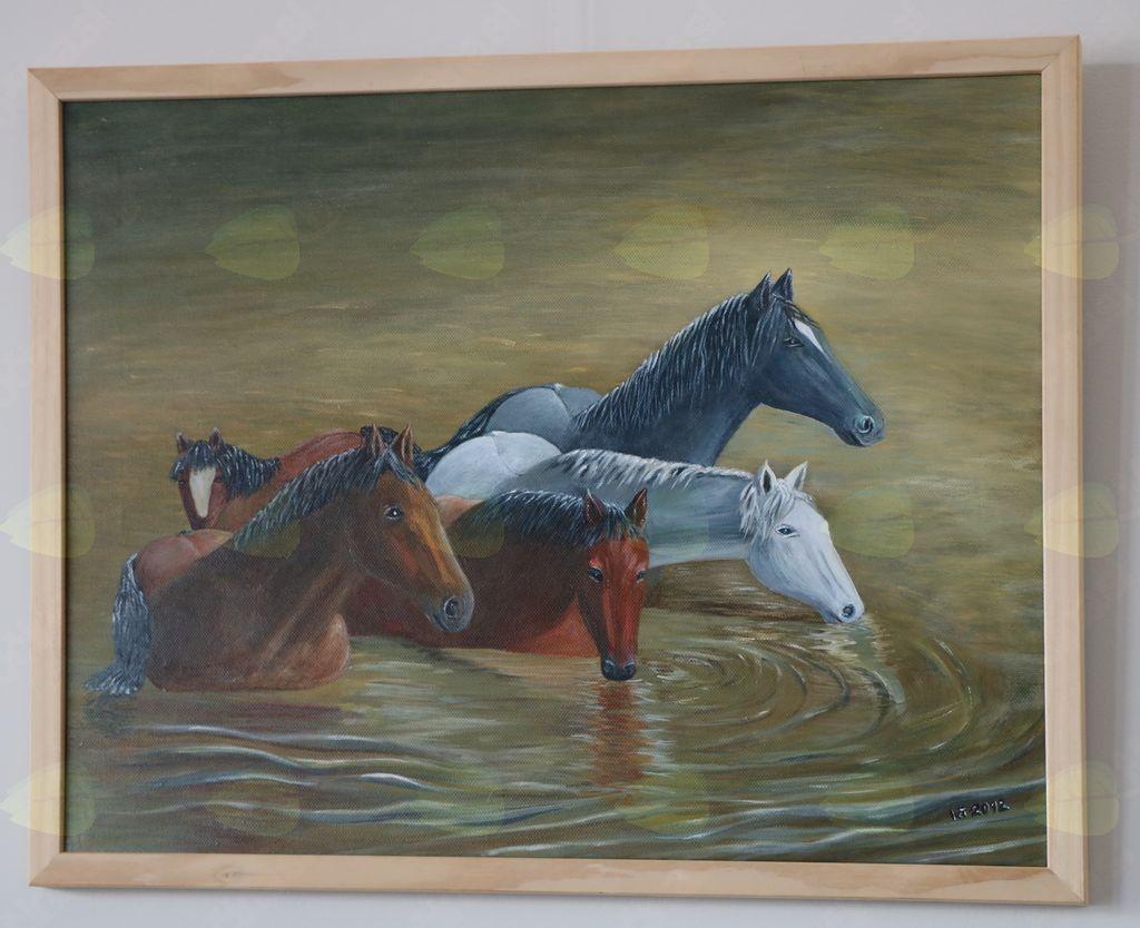 Razposajeni konji Irene Gorenc