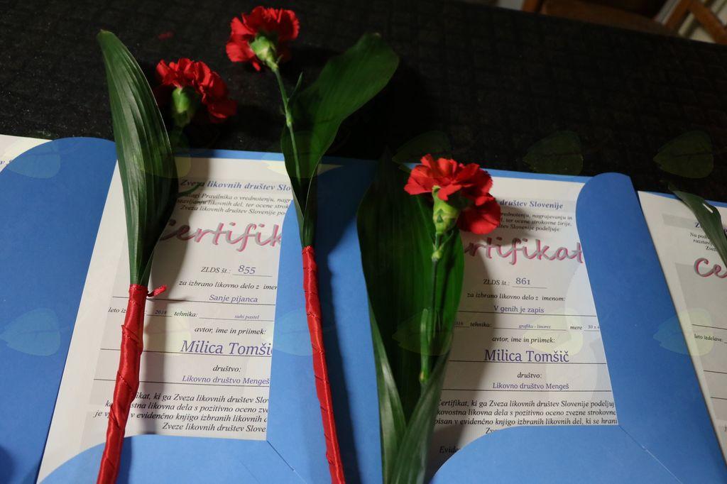 Milica Tomšič je prejela kar dva certifikata kakovosti