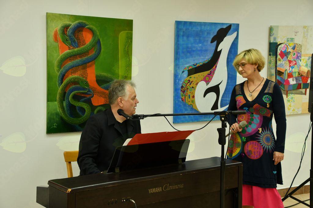 Anastazija in Miran Juvan, virtuozinja na violini in mojster  klavirja