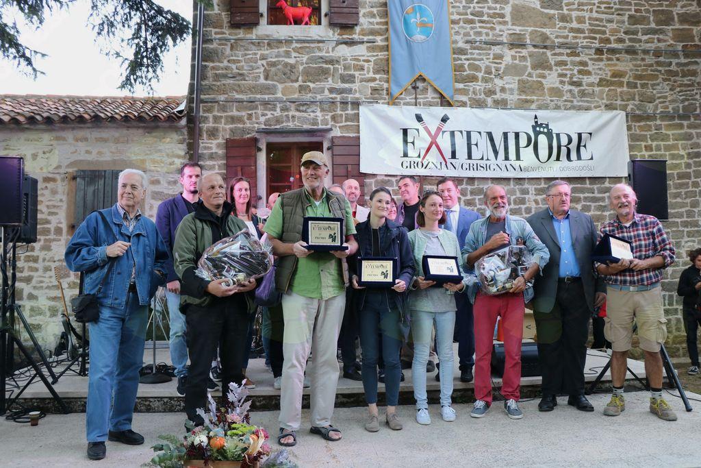 Nagrajenci 25. ex tempora Grožnjan