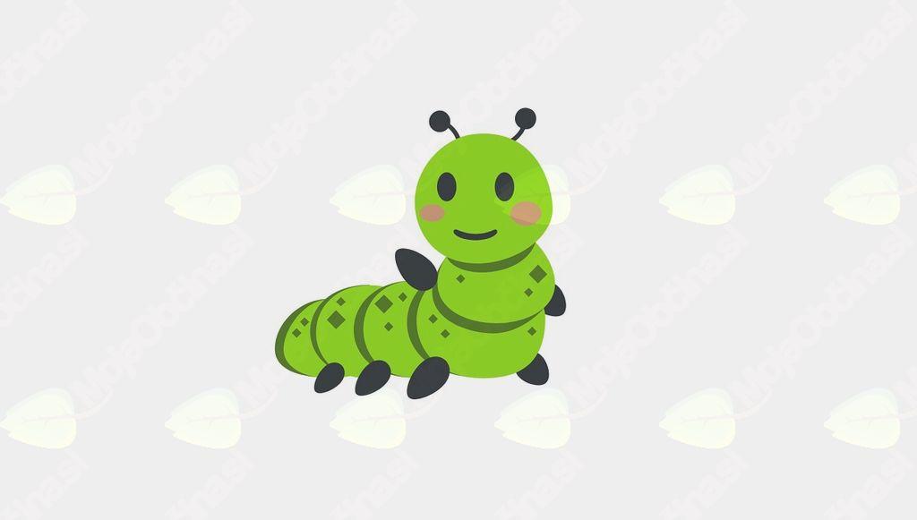 Gosenica in odmev