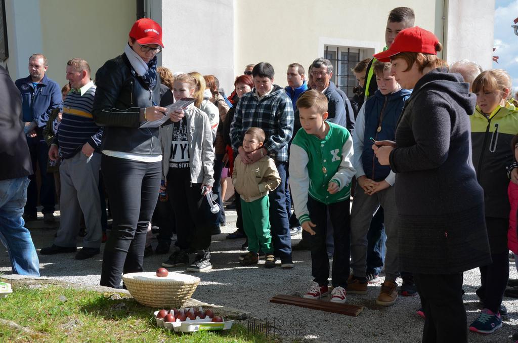 Sekanje pirhov na Primskovem
