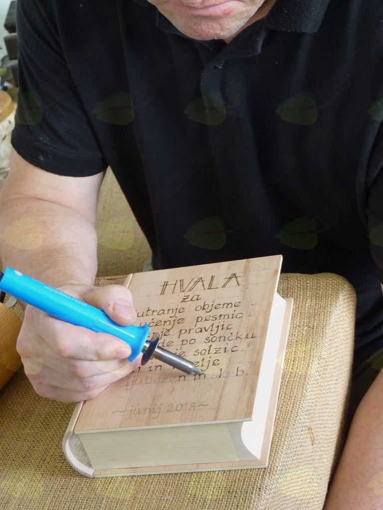 Unikatna lesena darila (zahvalna) AMBROŽ KREACIJE