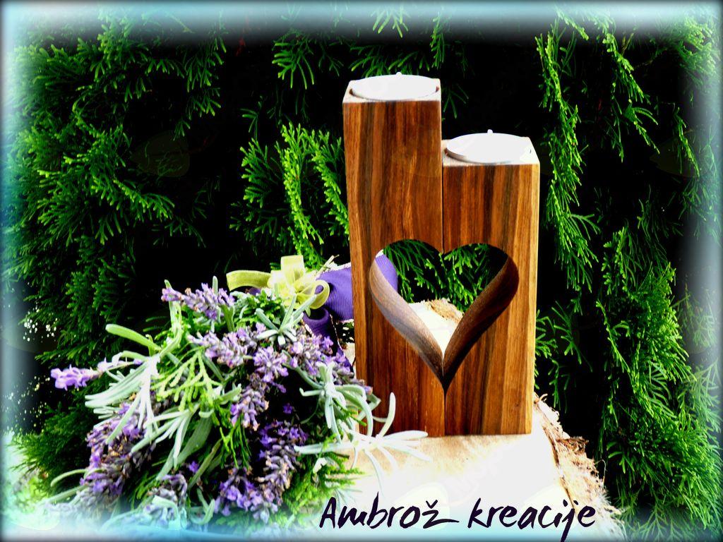 Unikatna lesena darila AMBROŽ KREACIJE (žalno darilo)