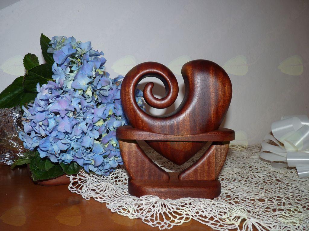 Unikatna lesena darila AMBROŽ KREACIJE (poročno darilo)