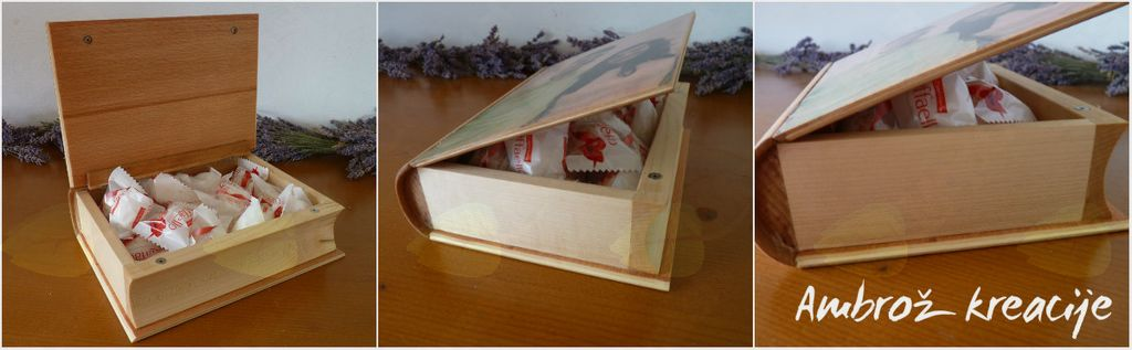 Unikatna lesena darila (poročna) AMBROŽ KREACIJE