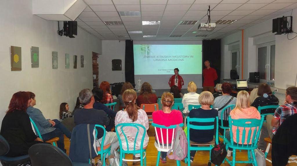 Predavanje o TKM, foto Brane Tomšič