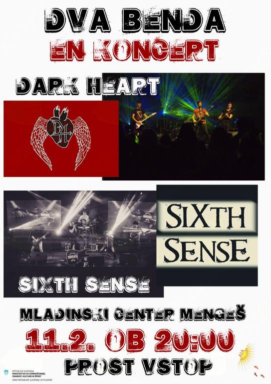 Talenti v živo: Dark Heart in Sixth Sense