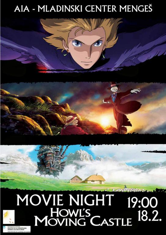 Movie Night - Howl's Moving Castle