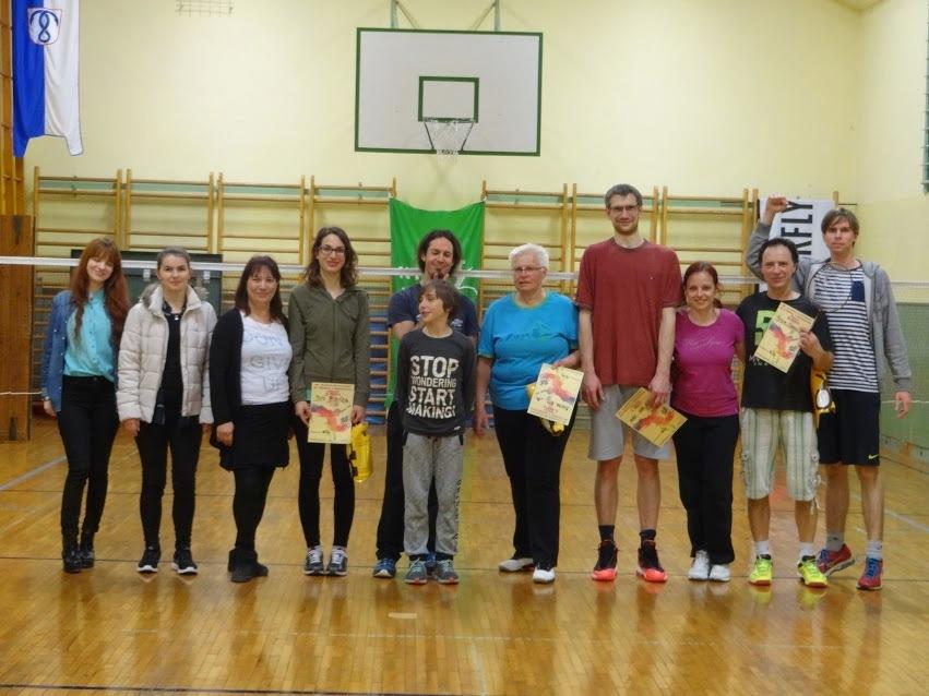 Medgeneracijski turnir v badmintonu, foto Simon Štebe