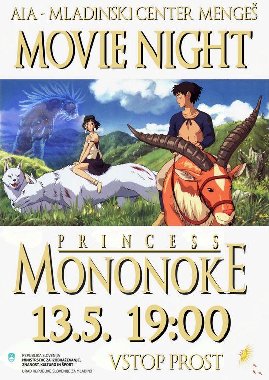 Movie Night - Princess Mononoke