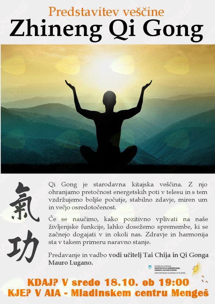 Predstavitev veščine Zhineng Qi Gong