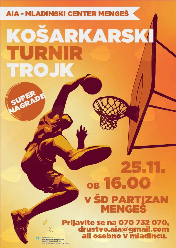 Košarkarski turnir trojk