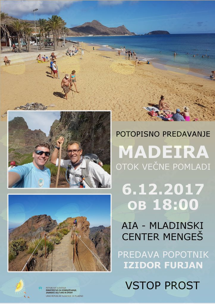 Zanimivo popotovanje - Madeira