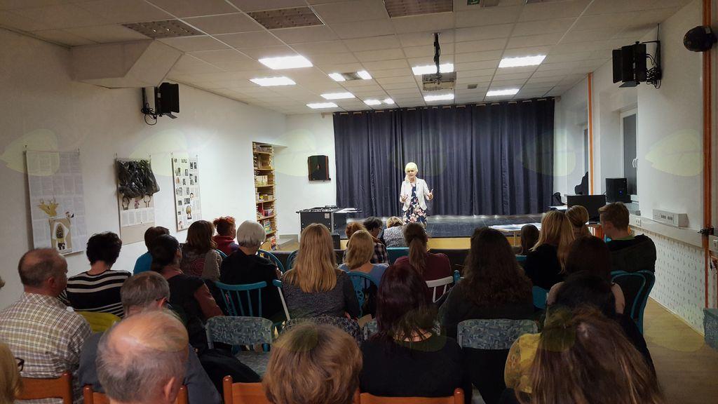 Barbka je predstavila svojo življenjsko zgodbo, foto Brane Tomšič.