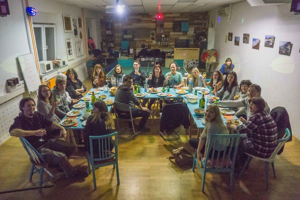 Zaključno srečanje prostovoljcev AIA, foto: Anže Lustek