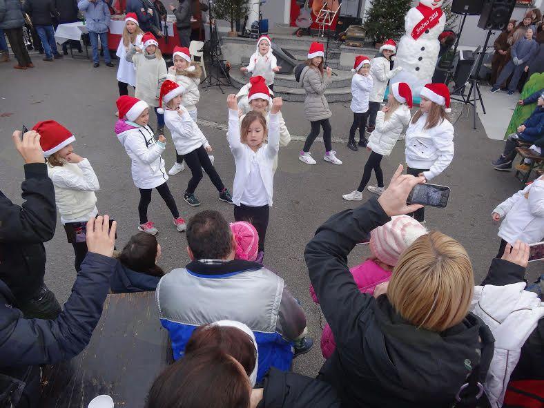 Dedek Mraz v Mengšu, foto Sanja Tomšič