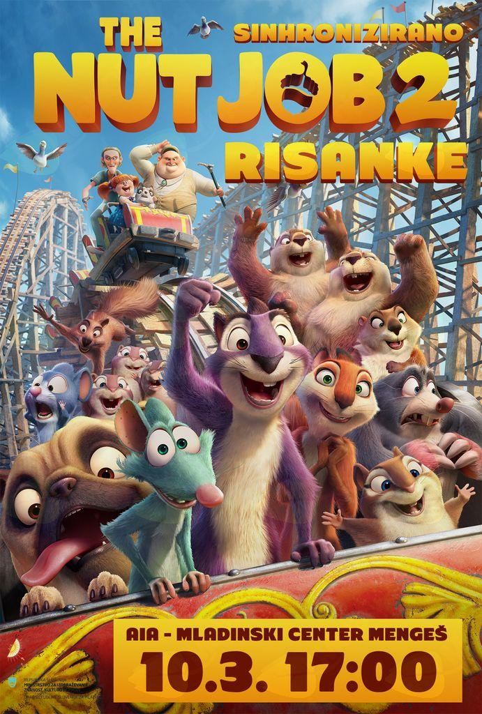 Risanke - The nut job 2