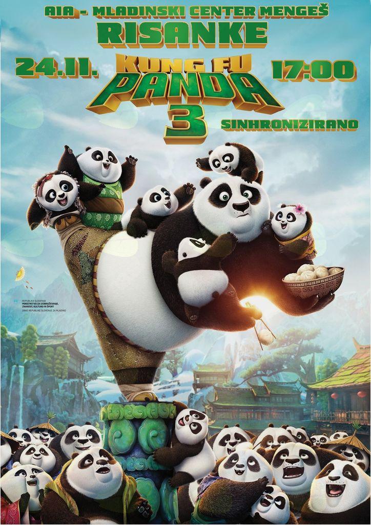 Risanke - Kung Fu Panda 3