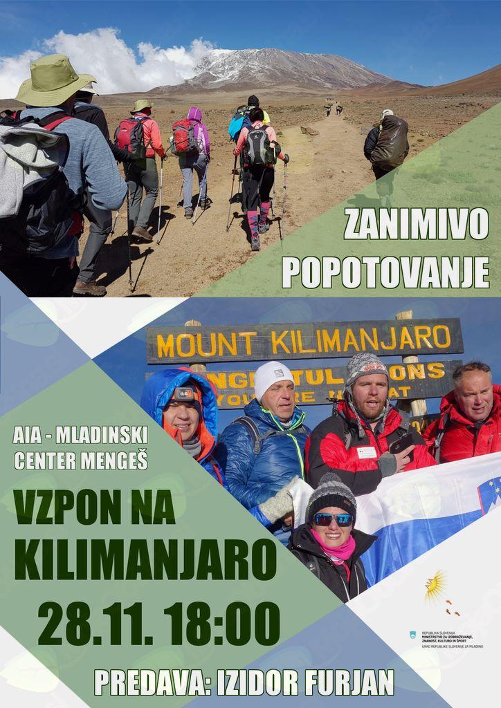 Zanimivo popotovanje - Kilimanjaro