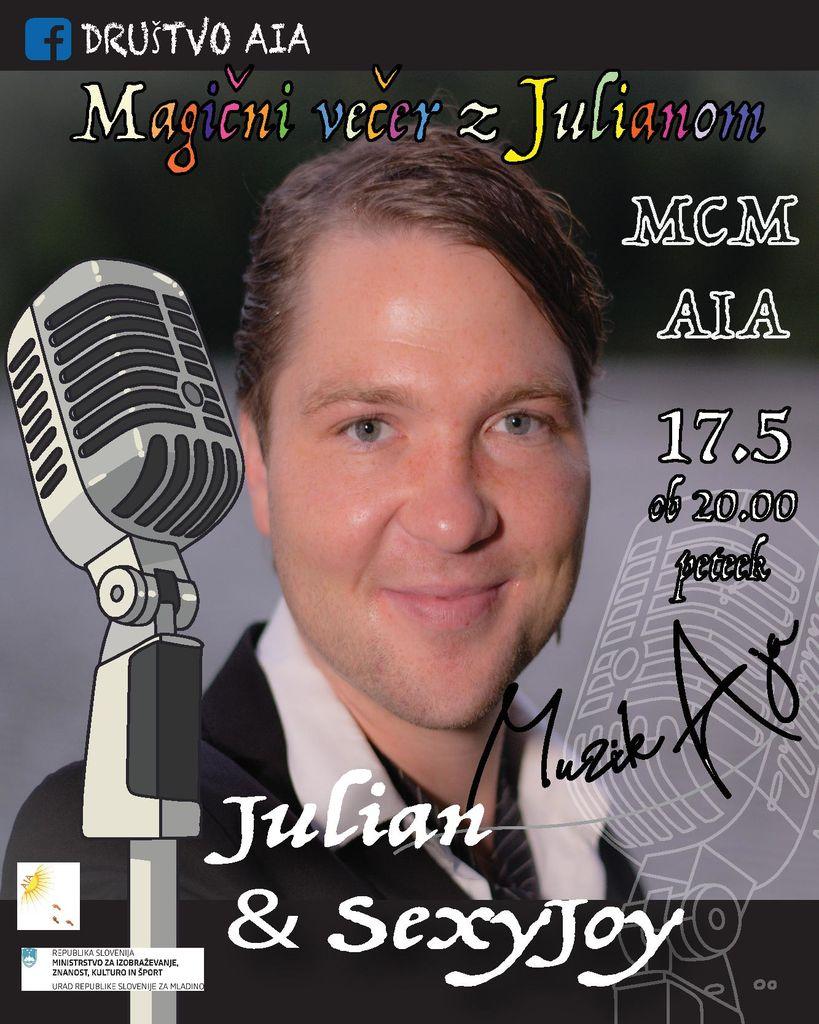 Magični večer z Julianom